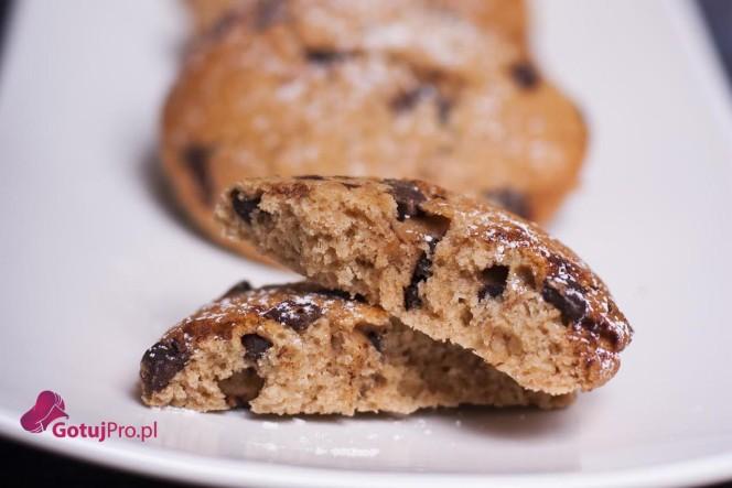 Ciasteczka z kawałkami czekolady - Przepis GotujPro.pl