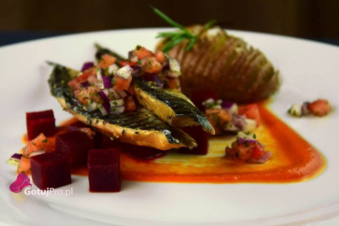 Pieczona makrela