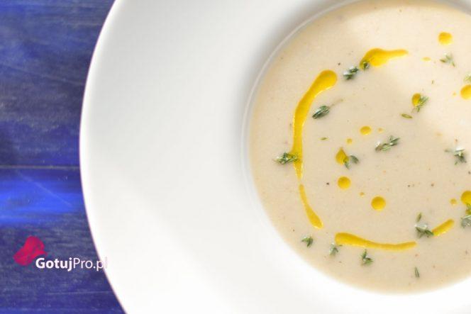 Zupa z pieczonego Pasternaka i kokosu